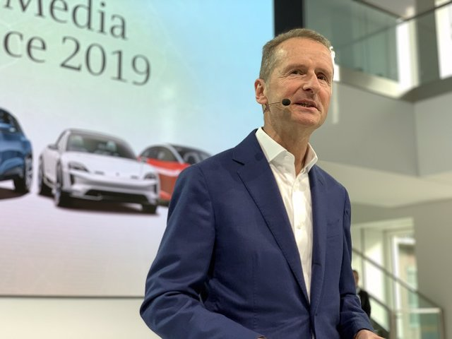 Herbert Diess, consejero delegado del grupo Volkswagen