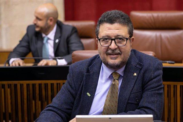Primera sesión del Pleno del Parlamento andaluz