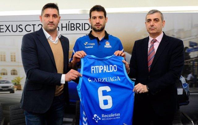 Baloncesto.- Bruno Fitipaldo renueva una temporada con el San Pablo Burgos