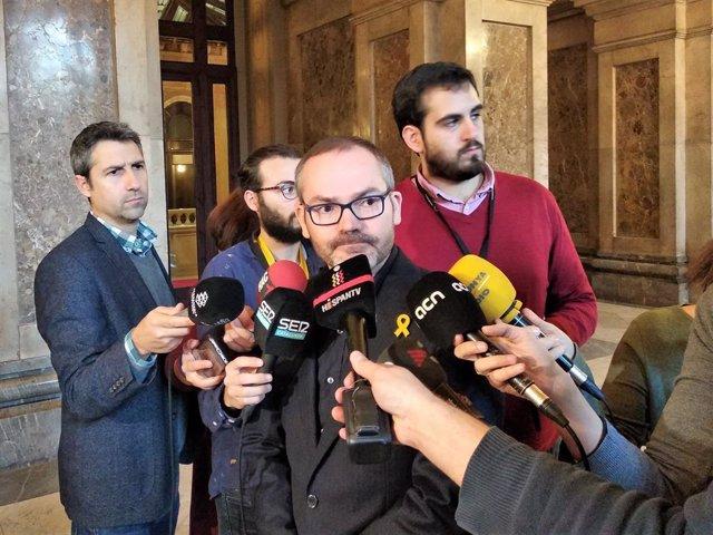 El vicepresident del Parlament, Josep Costa (JxCat)