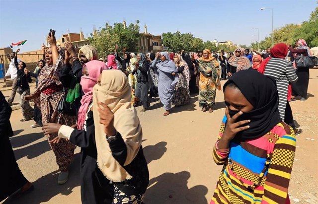 Sudán.- Encarcelada la hija del un dirigente opositor de Sudán