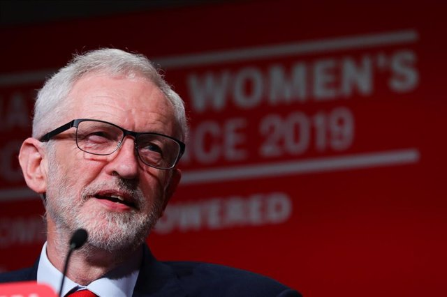 Jeremy Corbyn attends Labour Women\'s Conference in England