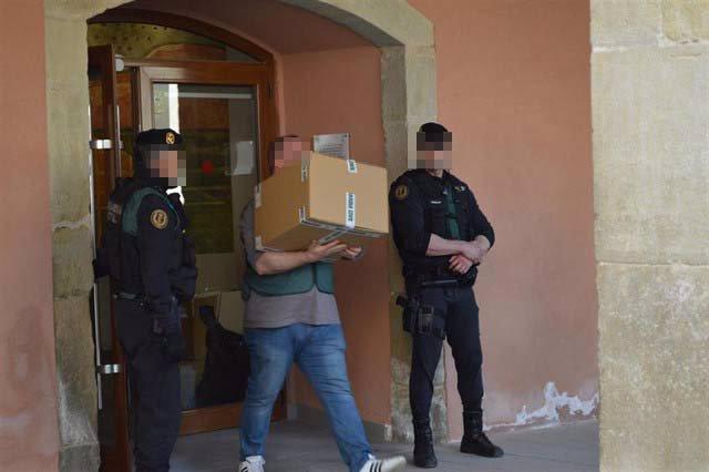 La Guardia Civil clona el servidor del Ayuntamiento y el museo de Almacelles (Ll