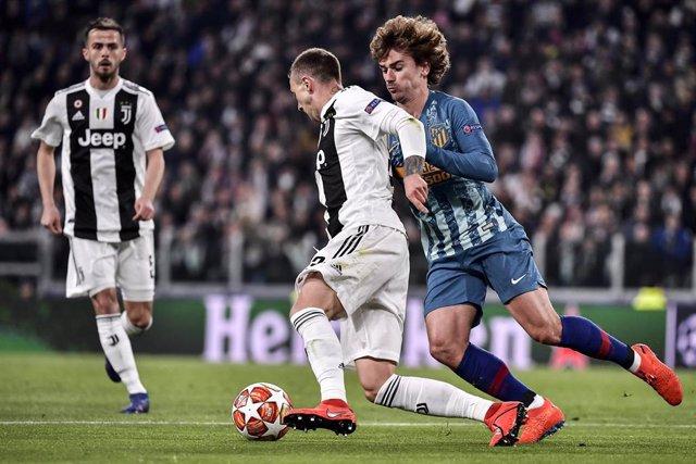 UEFA Champions League - Juventus vs Atletico Madrid