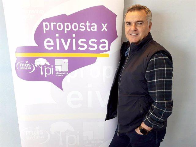 Proposta per Eivissa ratifica a Toni Roldán para liderar su candidatura al Ayunt