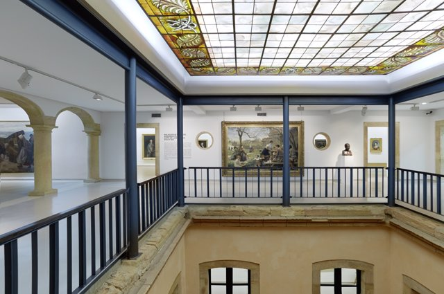 Segunda planta del Palacio de Velarde.