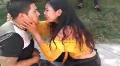 Revelan un nuevo vídeo de la mujer que apuñaló a su marido y después rogó que no se muriera