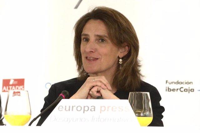 Teresa Ribera calcula que el nuevo Plan General de Residuos Radiactivos estará l