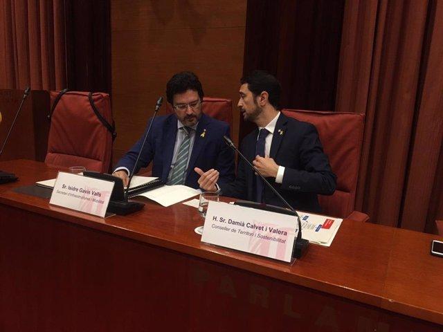 Av.- Calvet demana una relació bilateral entre Territori i Foment per Rodalies