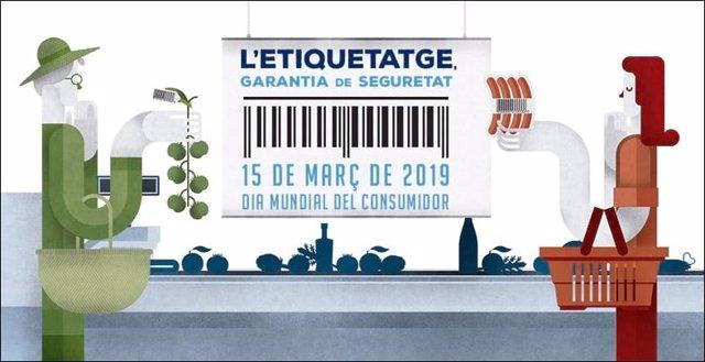 La Diputació de Barcelona reivindica l'etiquetatge dels aliments com garant