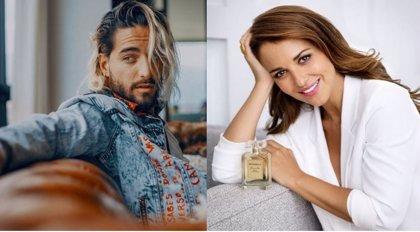 Maluma envía rosas a la actriz española Paula Echevarría junto con lo que podría ser un duro mensaje a David Bustamante