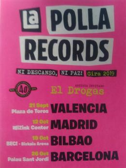 La Polla Records anuncia conciertos en grandes recintos de Valencia, Madrid, Bil