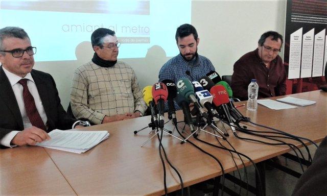 Un treballador del Metro de Barcelona assegura que pateix asbestosi per l'amiant