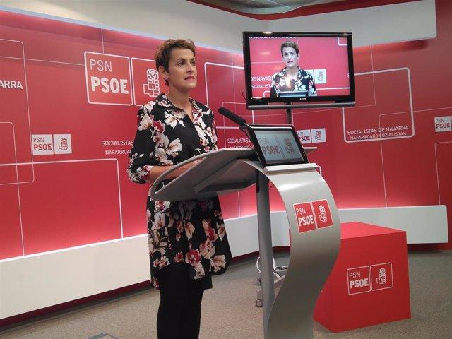 """Chivite (PSN) acusa a UPN de querer """"reeditar"""" en Navarra un """"pacto a la andaluz"""