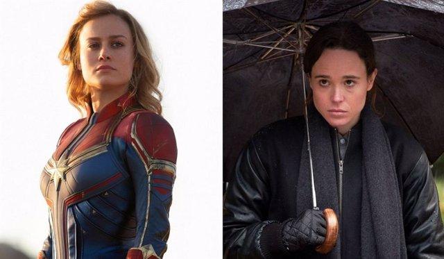 La increíble conexión entre Capitana Marvel y The Umbrella Academy