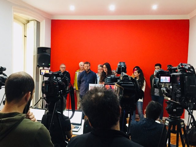 Reunión de IU Madrid y Anticapitalistas Madrid