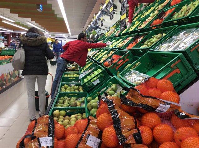 Precios, IPC, inflación, consumo, frutas, naranjas, compra, compras, comprar