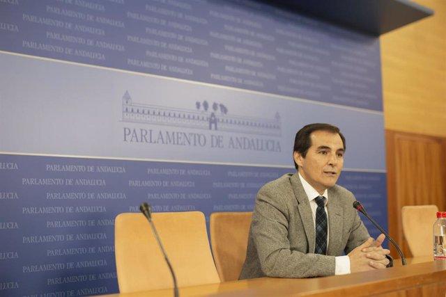 Rueda de prensa del portavoz parlamentario del PP-A