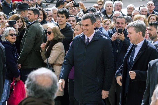 Pedro Sánchez visita Burgos