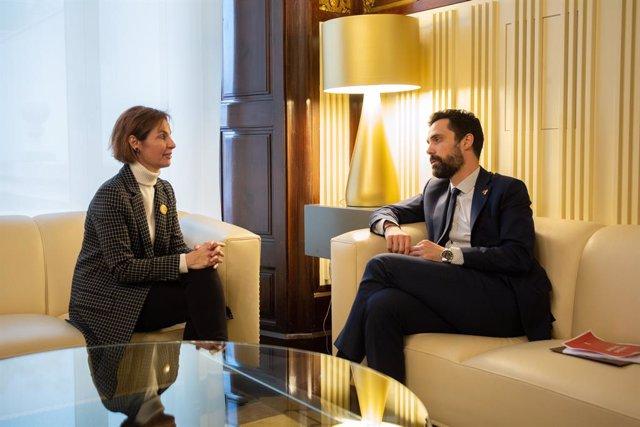 Reunions sobre la renovació d'rgans depenents del Parlament de Catalunya