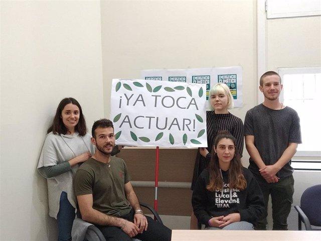 Estudiantes valencianos de Fridays for Future convocan concentración en la Huelg