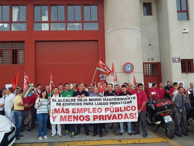 """Sevilla.- CCOO avisa de una nueva contratación """"externa"""" para trabajos del servi"""