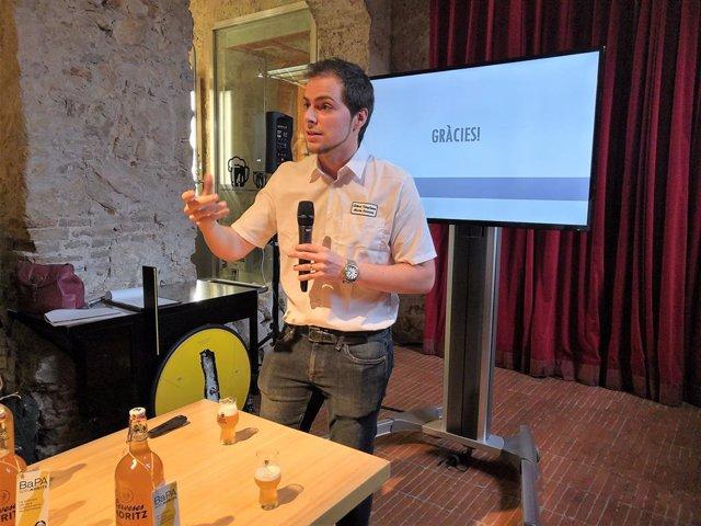 """Agro.- Moritz llança una """"cervesa col·laborativa"""" basada en l'opinió dels barce"""