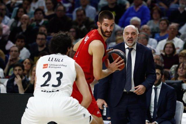 Basket: Euroleague - Real Madrid v Bayern Munich