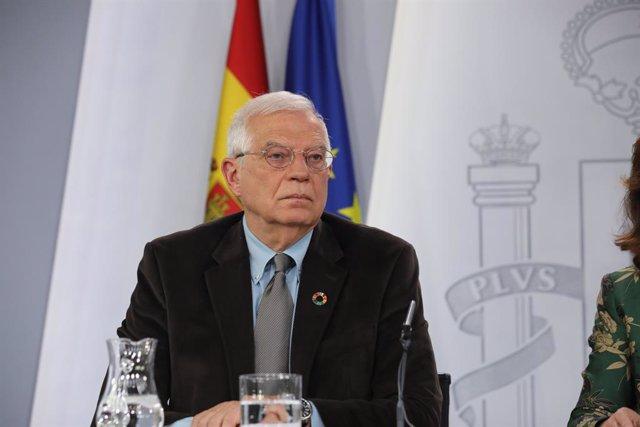 """Borrell al 'Financial Times': No se pueden """"resolver problemas imaginarios"""" de s"""