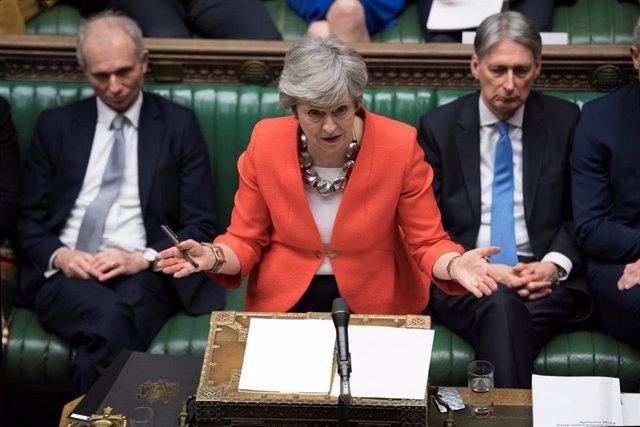 Brexit.- May assegura que votarà en contra d'un Brexit sense acord