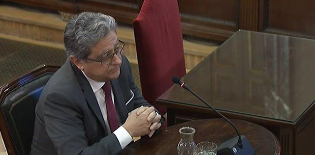 Declaració en el judici pel procés d'Enric Millo, ex-delegat del Govern