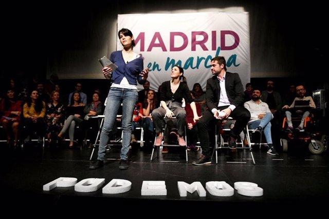VÍDEO: Isabel Serra (Podemos) reivindica una Comunidad feminista que plantee una