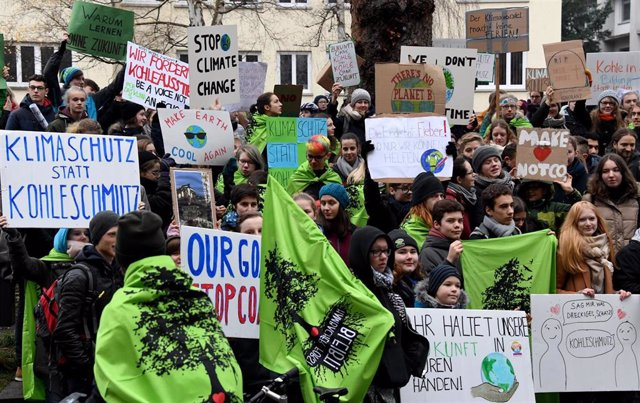 School strike for the climate in Germany