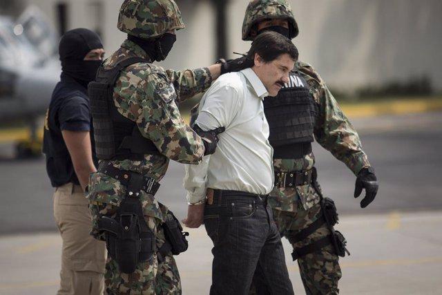 """Mexican Drug Dealer Joaquin """"El Chapo"""" Guzman"""