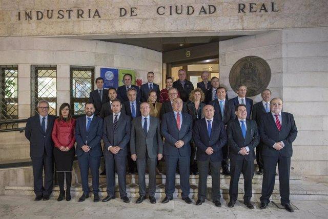 El nuevo Pleno de la Cámara de Comercio de Ciudad Real reelige a Mariano León co