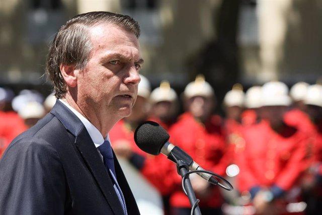 Bolsonaro envía condolencias a los familiares de las víctimas del tiroteo en una