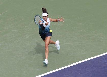 Muguruza, desdibujada por Andreescu y eliminada en los cuartos de Indian Wells