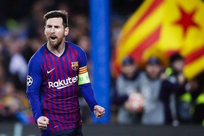 """Messi: """"Lo de Cristiano y la Juve fue impresionante"""""""