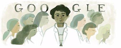 Google homenajea a la médica mexicana Matilde Montoya en el 160 aniversario de su nacimiento con un 'doodle' especial