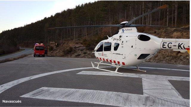 Pamplona acoge una jornada transfronteriza sobre helicópteros en misiones de eme