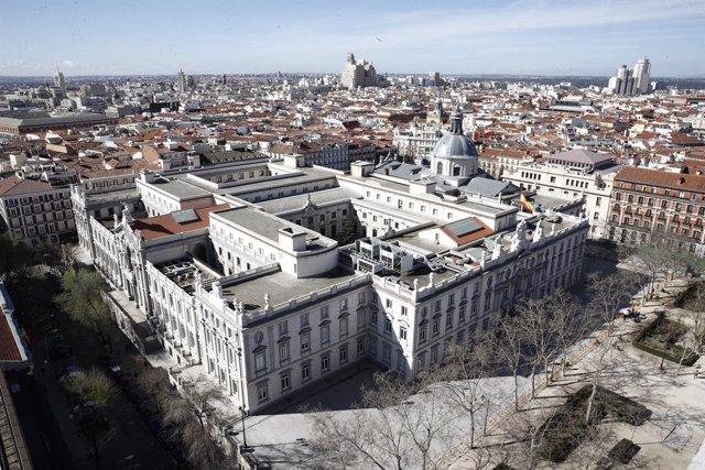 Recursos de Madrid des de la Torre Colón