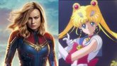 Foto: Sailor Moon, inspiración de la Capitana Marvel de Brie Larson