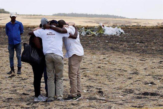 Etiopía.- Familiares de víctimas del vuelo ET302 abandonan la reunión con Ethiop
