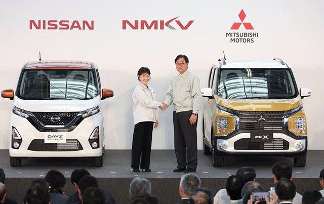 Economía/Motor.- Nissan y Mitsubishi lanzarán cuatro nuevos minivehículos que se