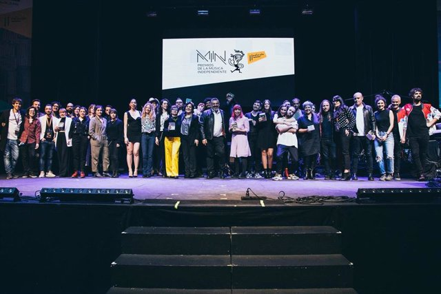 Morgan triunfa en los Premios MIN de la Música Independiente 2019