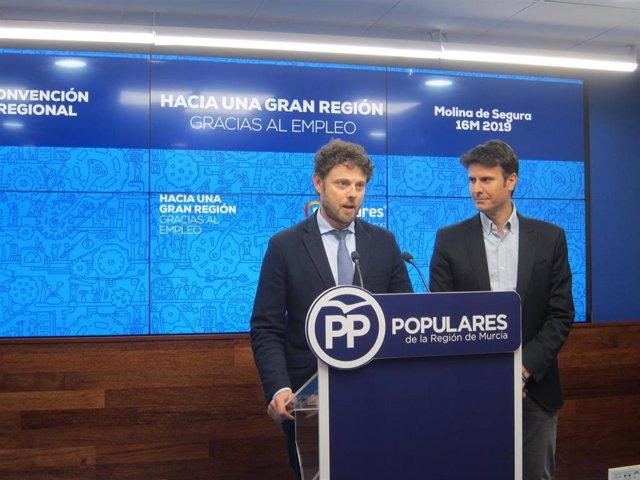 El PP regional celebra este sábado en Molina su convención sectorial sobre emple