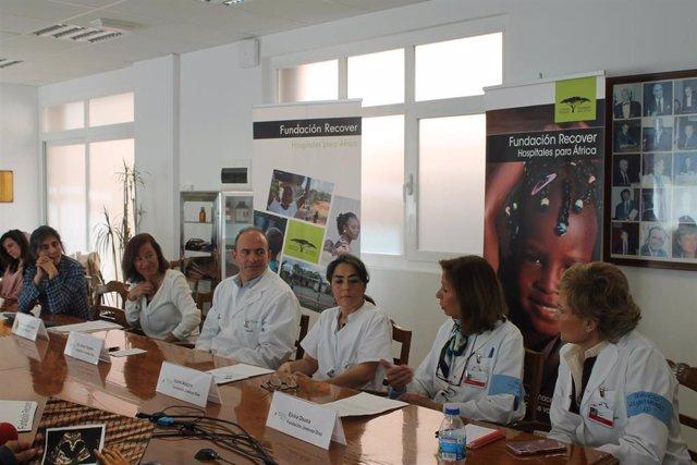 Acto de la Fundación Recover en el Hospital Fundación Jiménez Díaz