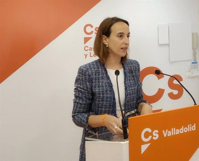 AMP.- Pilar Vicente renuncia a ser candidata de Cs por Valladolid y anuncia que