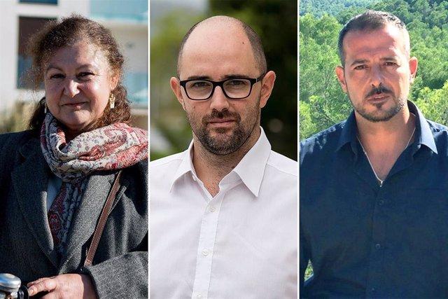 28A.- Malagrava, De la Petxina I Devis, Candidats De Podem Al Senat Sota La