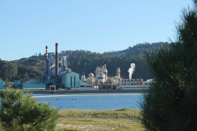 Ence na ría de Pontevedra